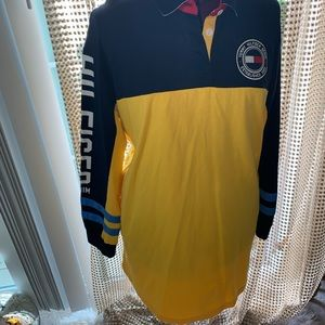 Tommy Hilfiger Long Sleeve Rugby Polo Dress